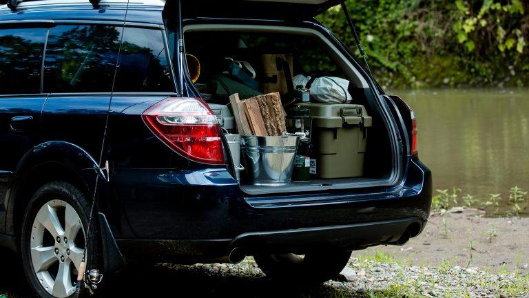 トランクカーゴとオートキャンプへ出かける